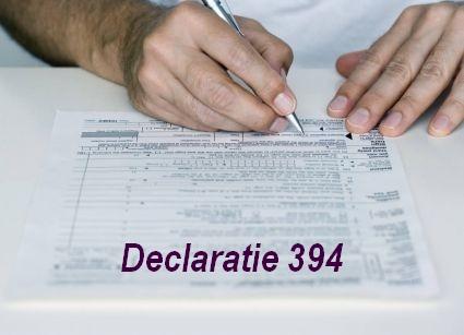 Declarația 394, noutăți 2016
