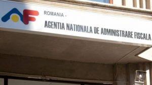 intrare institutie cu sigla anaf