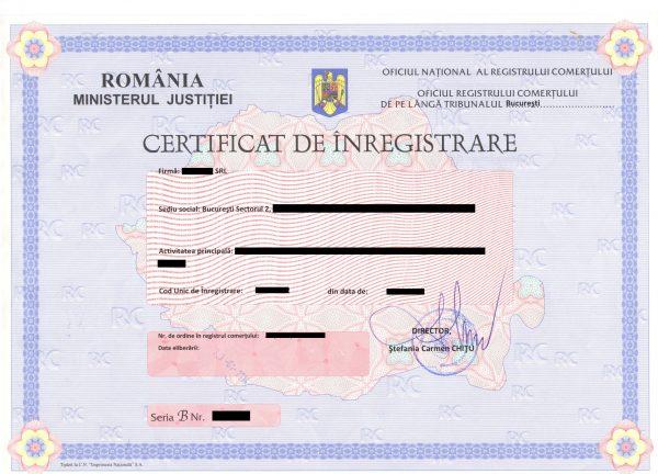 Înregistrarea fiscală pentru persoanele juridice din România
